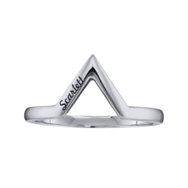 jcpenney.com | Personalized V-Shaped Ring