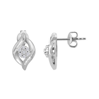 jcpenney.com | diamond blossom ⅕ CT. T.W. Diamond Earrings