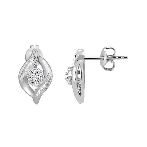 diamond blossom ⅕ CT. T.W. Diamond Earrings