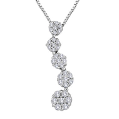 jcpenney.com | diamond blossom ⅓ CT. T.W. Diamond Pendant Necklace