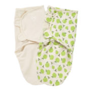 Summer Infant® 2-pk. Organic SwaddleMe® - Apples