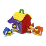 Melissa & Doug® Bird House Shape Sorter