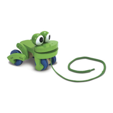 jcpenney.com | Melissa & Doug® Frolicking Frog Pull Toy