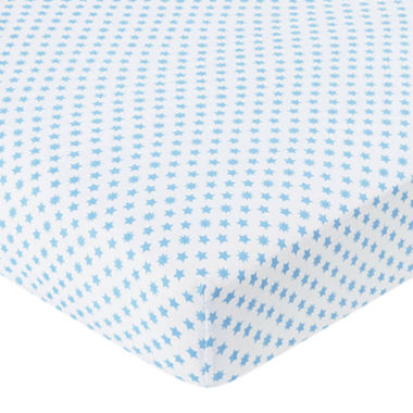 jcpenney.com | ideal baby by the makers of aden + anais® Crib Sheet - Blue