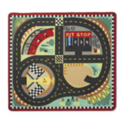 Melissa & Doug® Round The Race Track Rug