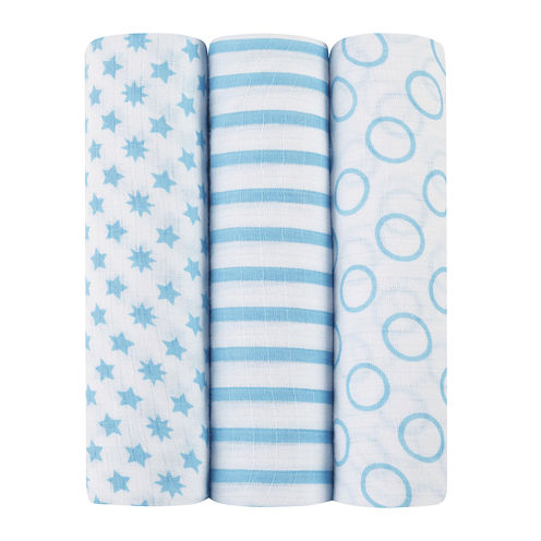 ideal baby by the makers of aden + anais® 3-pk. Swaddles - Sunny Side