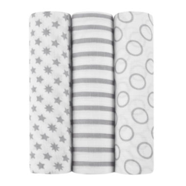 jcpenney.com | ideal baby by the makers of aden + anais® 3-pk. Swaddles - Pint Size