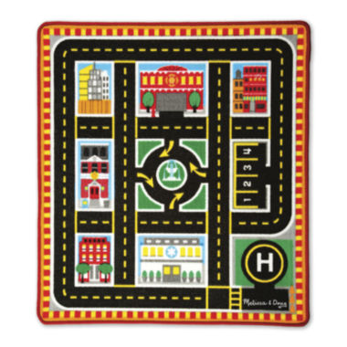 jcpenney.com | Melissa & Doug® Round The City Rescue Rug