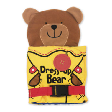 jcpenney.com | Melissa & Doug® Dress Up Bear Soft Activity Book