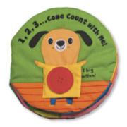 Melissa & Doug® 1,2,3...Come Count With Me Soft Activity Book
