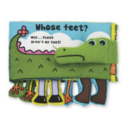 Melissa & Doug® Whose Feet? Soft Activity Book