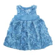 Rare Editions Rosette Soutache Dress - Toddler Girls 2t-4t