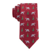 IZOD® Polar Bear Tie - Boys
