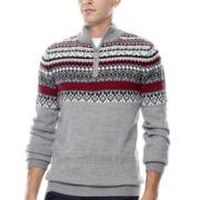 i jeans by Buffalo Lexington Half-Zip Sweater