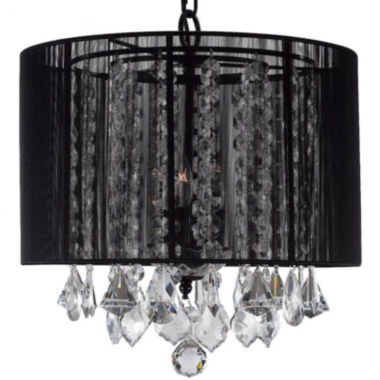 jcpenney.com | 3-Light Crystal Chandelier with Shade