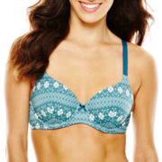 Ambrielle® Natural Comfort Cotton Full-Coverage Bra