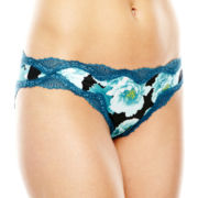 Ambrielle® Sensual Shine Bikini Panties