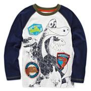 Disney Apparel by Okie Dokie® Good Dinosaur Raglan Tee - Toddler Boys 2t-5t