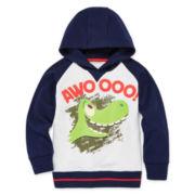 Disney Apparel by Okie Dokie® Good Dinosaur Fleece Hoodie - Preschool Boys 4-7
