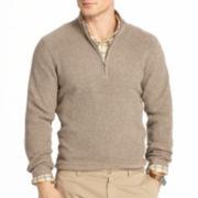 IZOD® Quarter-Zip Shaker Sweater