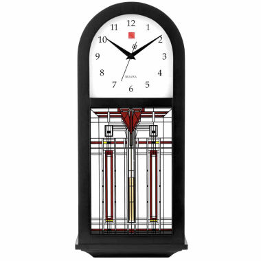 jcpenney.com | Bulova White Wall Clock-C4836