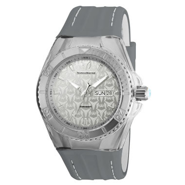 jcpenney.com | Techno Marine Mens Gray Strap Watch-Tm-115153