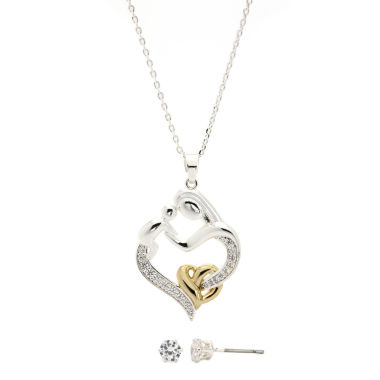 jcpenney.com | Sparkle Allure Cubic Zirconia Jewelry Set