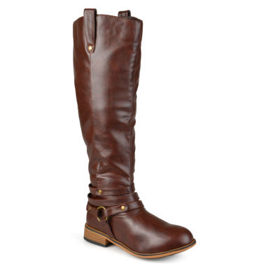 jcpenney.com | Journee Collection Walla Riding Boots - Wide Calf