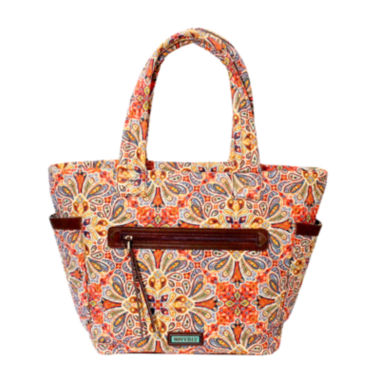 jcpenney.com | Waverly Paisley Floral Quilted Large Tote Bag