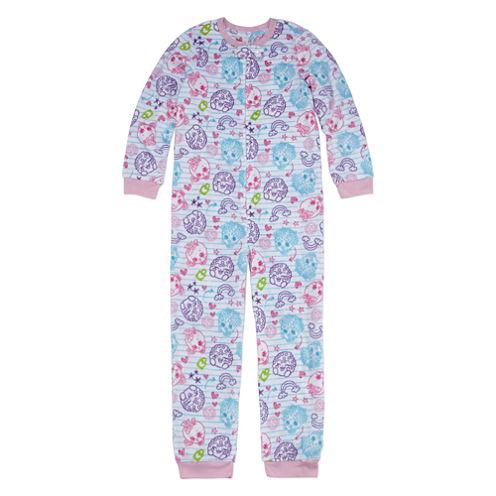 Kids Line Long Sleeve One Piece Pajama-Big Kid Girls