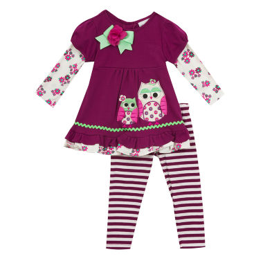jcpenney.com | Rare Editions Girls 2-pc. Legging Set-Toddler