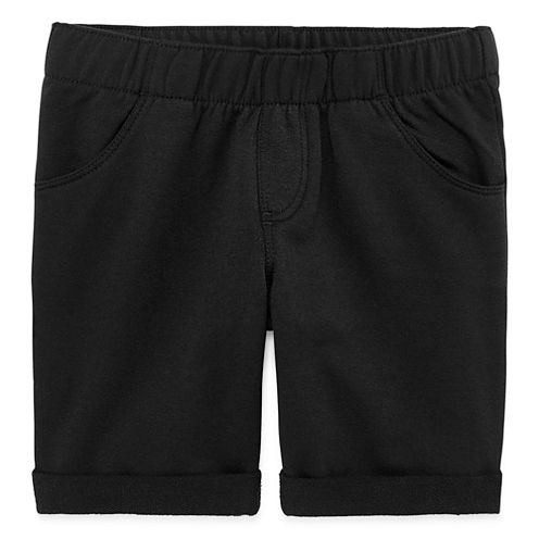 Okie Dokie Knit Bermuda Shorts - Preschool Girls