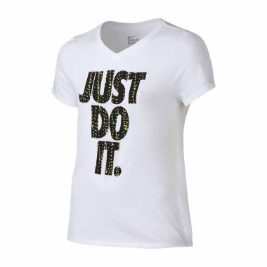 jcpenney.com | Nike Girls Graphic T-Shirt-Big Kid