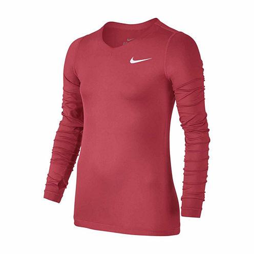 Nike Graphic T-Shirt-Big Kid Girls