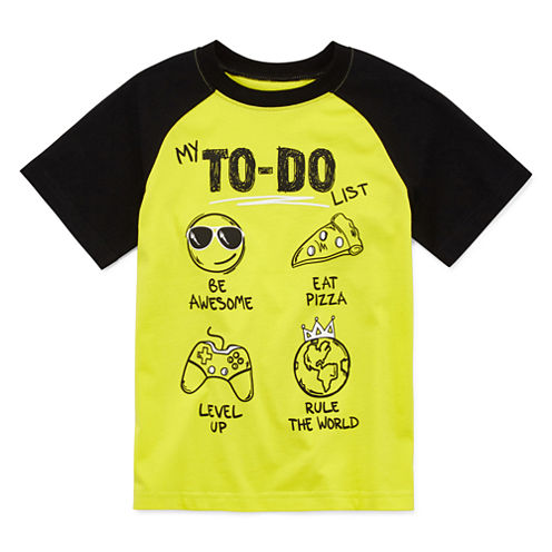 Okie Dokie Graphic T-Shirt-Preschool Boys