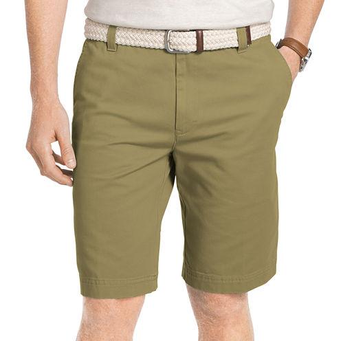 IZOD Flat Front Saltwater Shorts