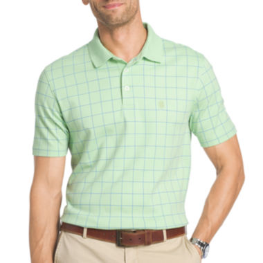 jcpenney.com | IZOD Short Sleeve Grid Polo Shirt