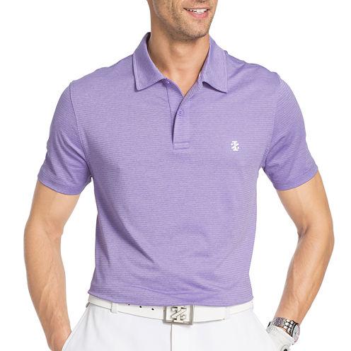 IZOD Golf Performance Cutline Stretch Short Sleeve Solid Polo Shirt