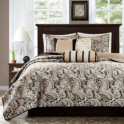 Madison Park Wellington 6-pc. Coverlet Set