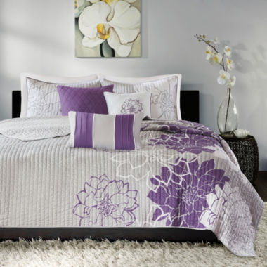 jcpenney.com | Madison Park Bridgette 6-pc. Coverlet Set