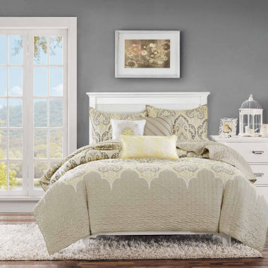 jcpenney.com | Madison Park Noelle 6-pc. Coverlet Set