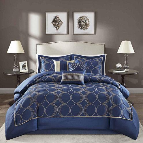 Madison Park Lenox 7-pc. Comforter Set