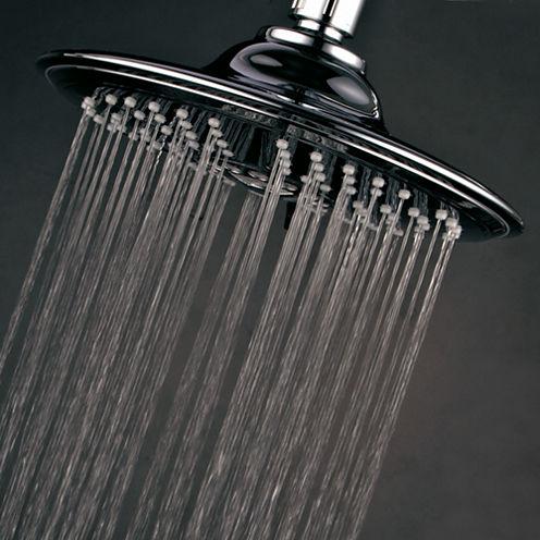 "HotelSpa® Resort Collection Ultra-Luxury 7-Setting 7"" Rainfall Shower Head / Premium Chrome"