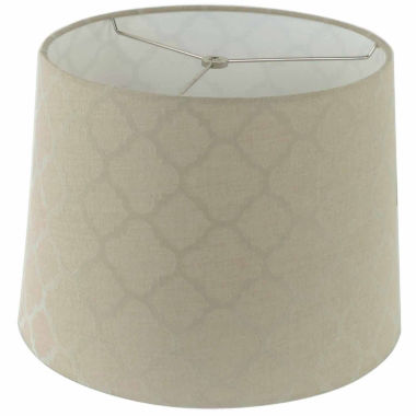 jcpenney.com | Tan Linen Shade With Ogee Pattern