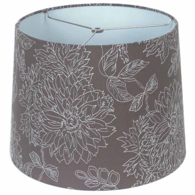jcpenney.com | Embroidered Linen Shade