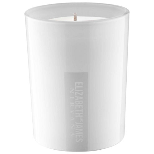 Elizabeth and James Nirvana White Candle
