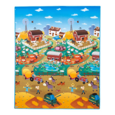 jcpenney.com | Prince Lionheart® Reversible playMAT - City/Farm