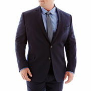 Stafford® Executive Super 100 Navy Wool Suit Jacket – Portly