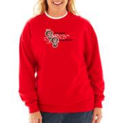 Fleece Graphic Sweatshirt - Plus