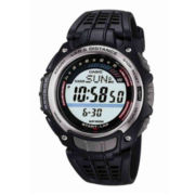 Casio® Mens Pedometer Digital Sport Watch